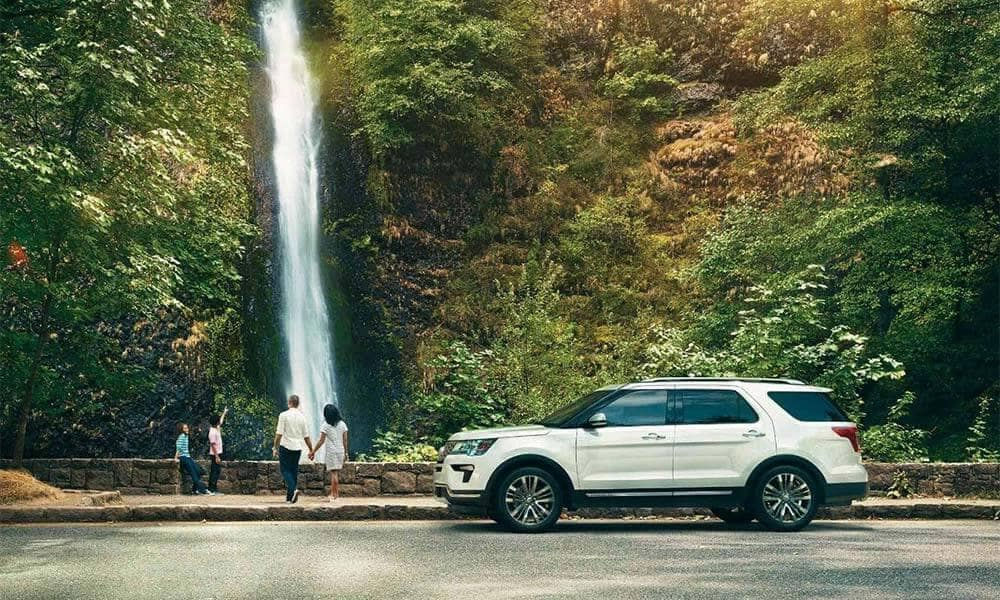 Picture of 2018 Ford Explorer Platinum Waterfall