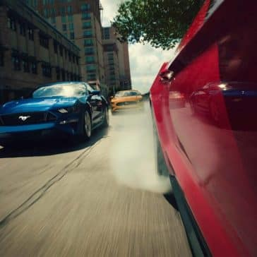 Ford Mustang Exterior Driving
