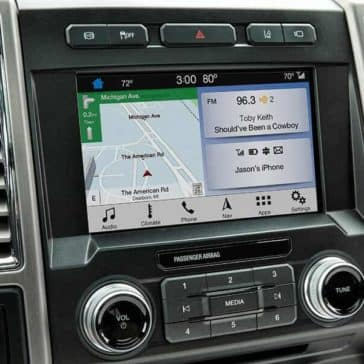Picture of 2018 Ford Super Duty Platinum Navigation System