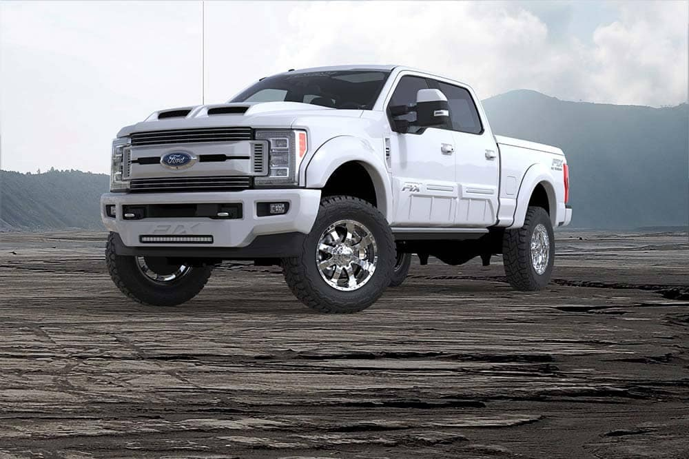 2018 F-250 FTX Oxford White