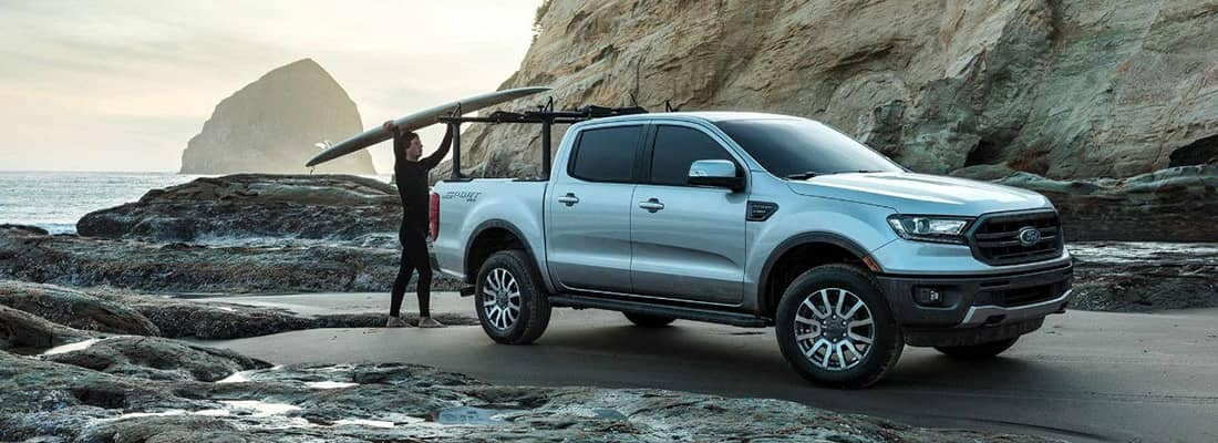 2019 Ford Ranger At Beach