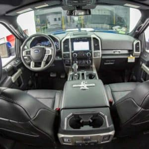 Ford F-150 Tuscany Shelby Super Snake Fisheye Interior