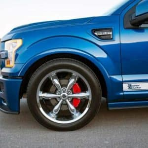 Ford F-150 Tuscany Shelby Super Snake Front Wheel Detail