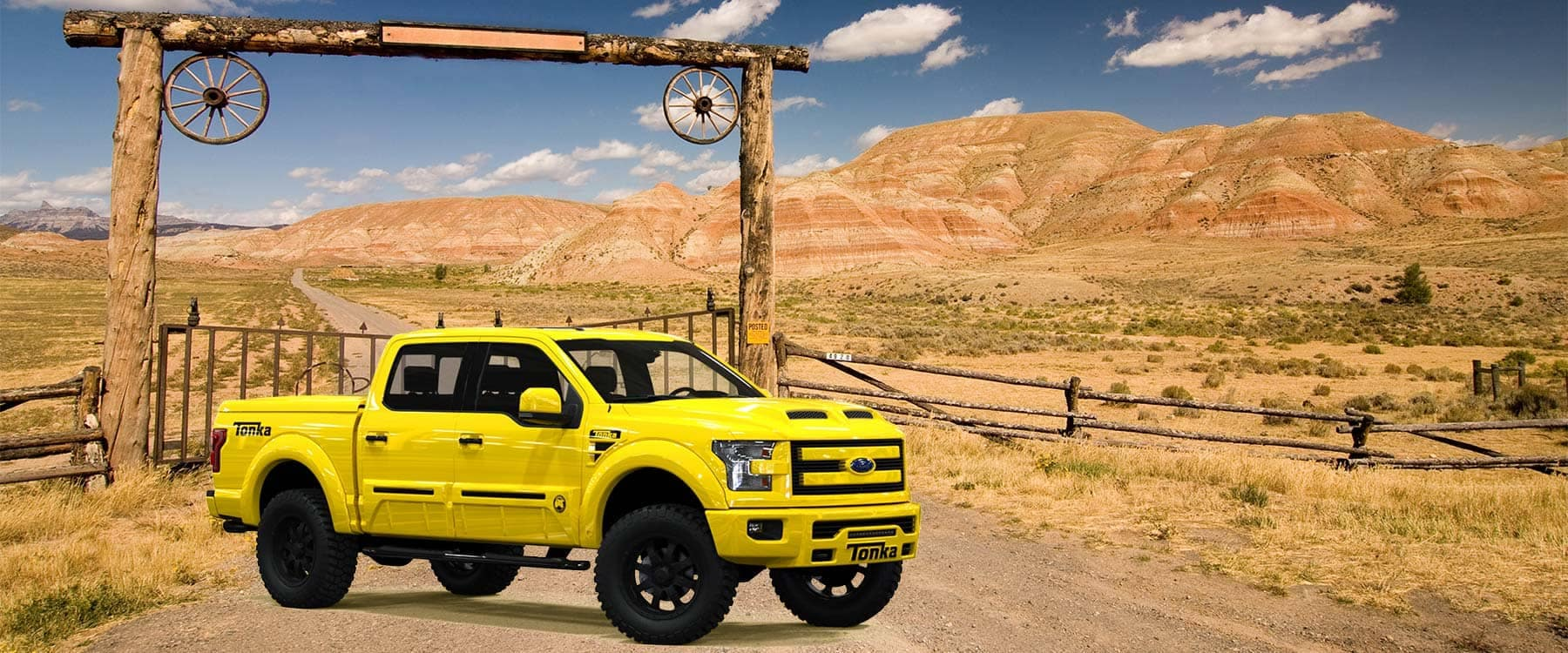 Picture of Ford Tuscany F-150 Tonka Slider