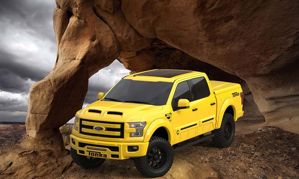 Ford F 150 Tonka >> Tuscany Trucks Tonka Custom Lifted Pickup Truck