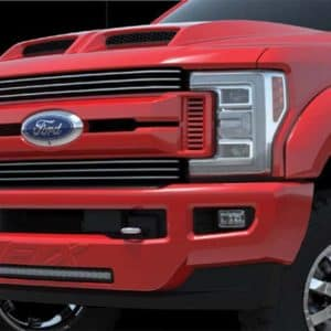 Tuscany Ford F-250 FTX Hood and Grille Detail