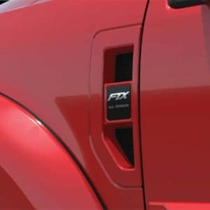 Tuscany Ford F-250 FTX Side Badge