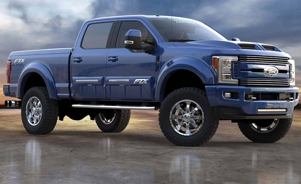 Tuscany Ford F-250 FTX Side