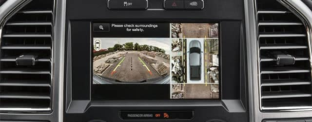 2018 Ford F-150 360 Degree Camera with Split View