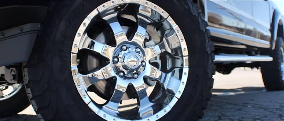2018 Ford F-150 Tuscany Badlander Wheel Detail