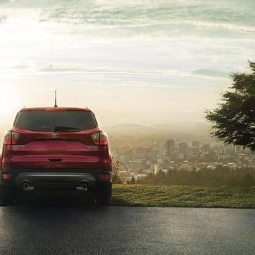 Picture of 2018 Ford Escape overlooking a city