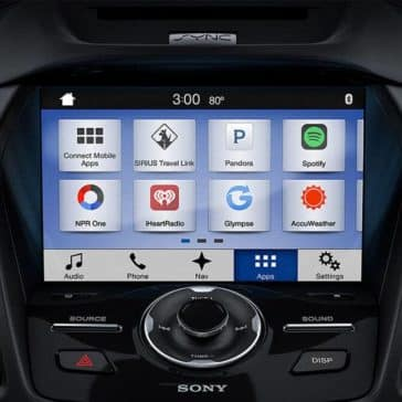 Picture of 2018 Ford Escape Infotainment options with Apple CarPlay and Android Auto with Sync 3