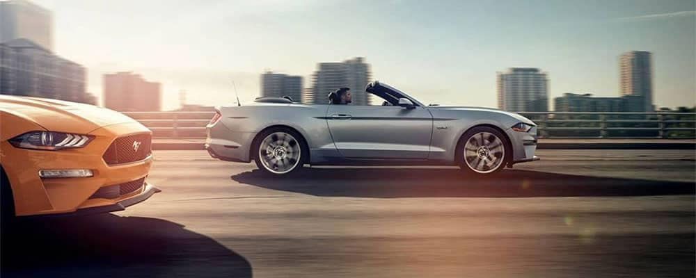 Picture of 2019 Ford Mustang GT Premium Convertible driving