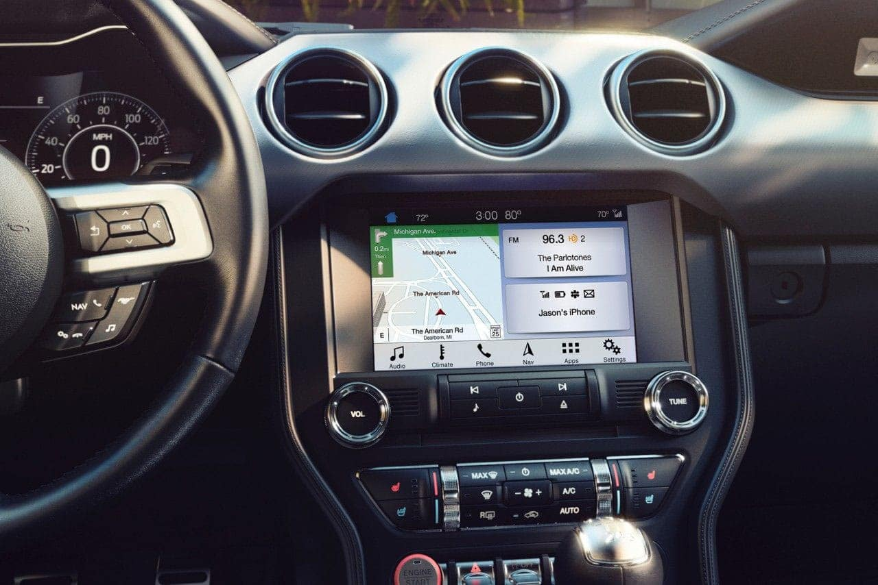 2019 Ford Mustang Interiror Dashboard