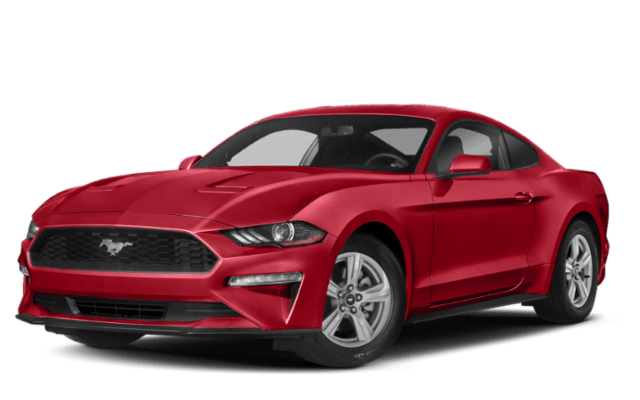 Picture of 2018 Red Ford Mustang