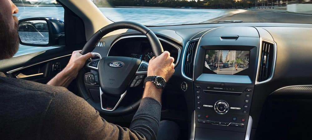 2019 Ford Edge Interior with Driver