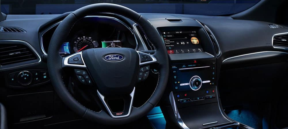2019 Ford Edge Interior Dashboard