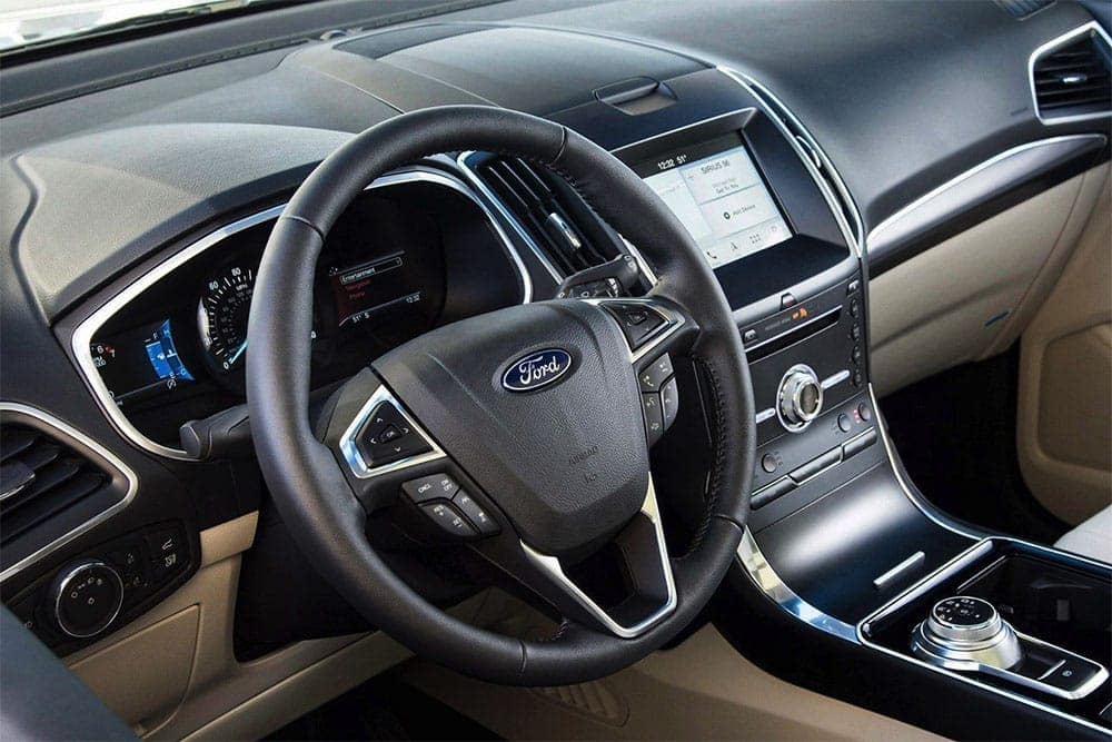 Picture of 2019 Ford Edge Steering Wheel