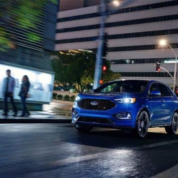 Picture of 2019 Ford Edge at Night