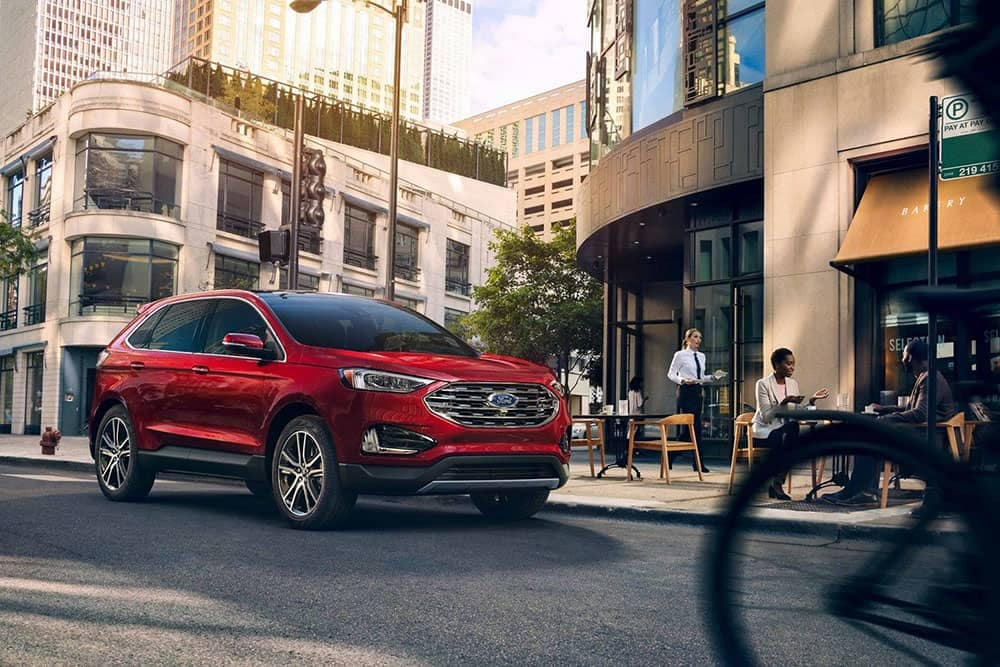 2019 Ford Edge city street
