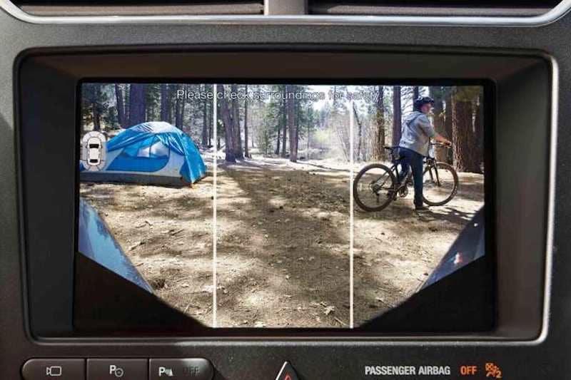 2019 Ford Explorer 180 Degree Camera Split View
