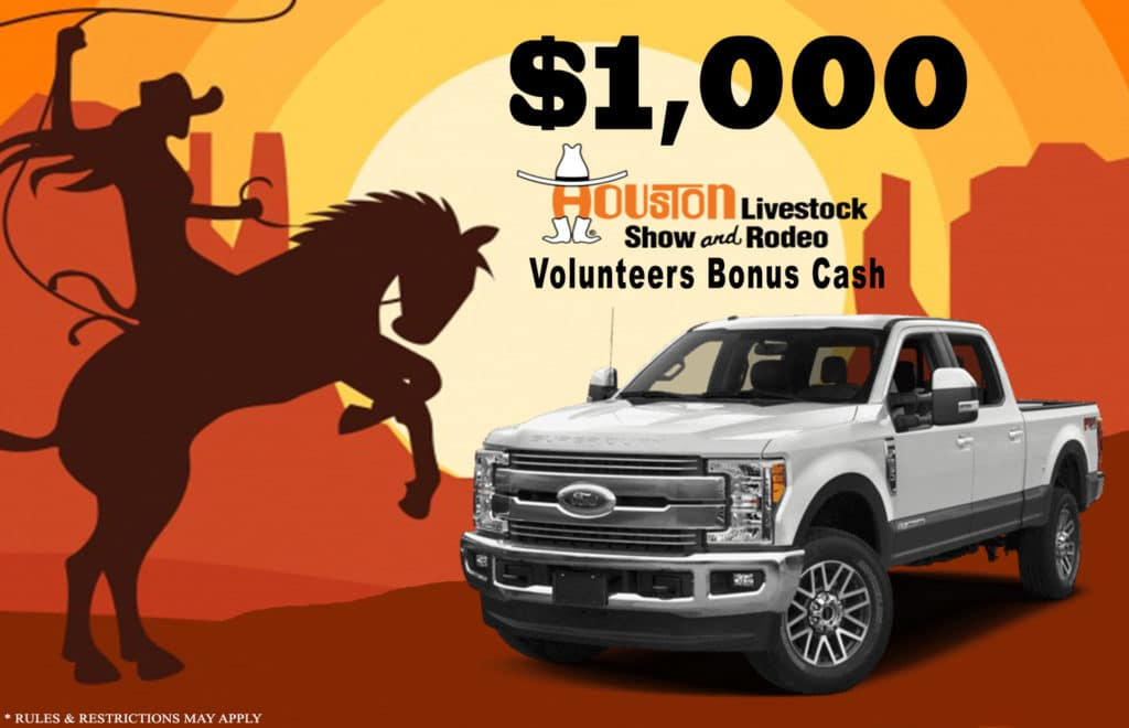 rodeo houston bonus cash