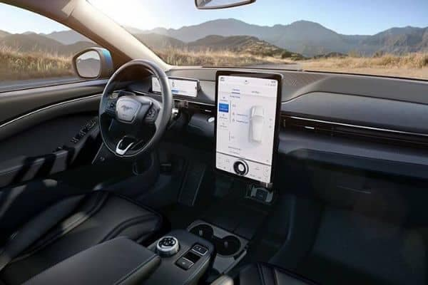 Mach-E Dashboard Technology