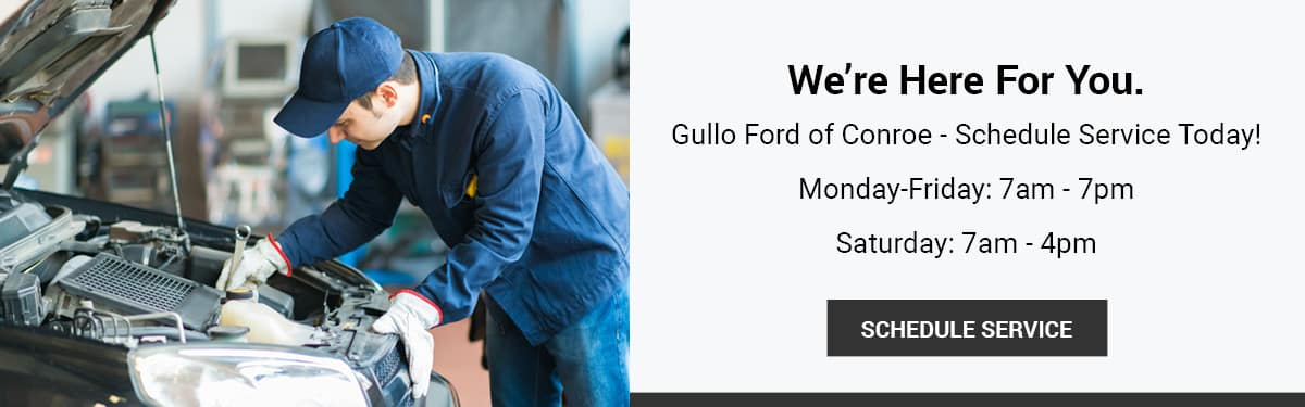 Gullo Ford of Conroe Service