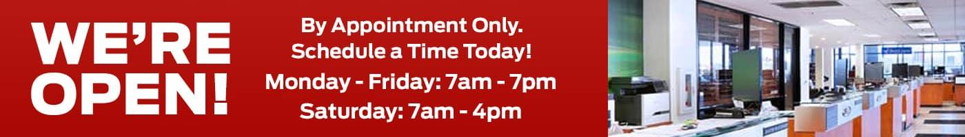 Schedule Service Updated