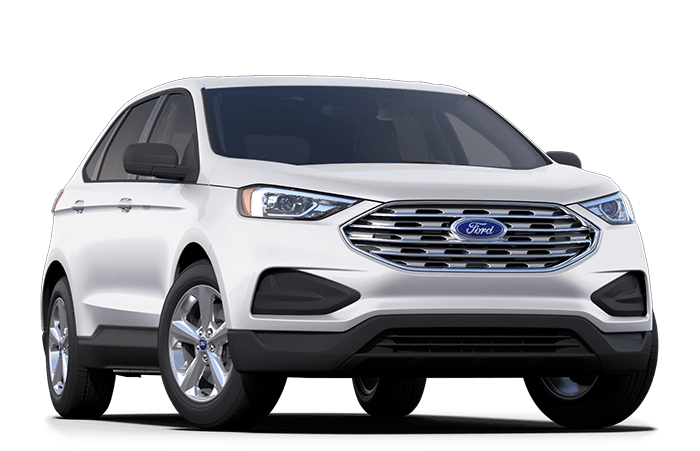 2020 Ford Edge White
