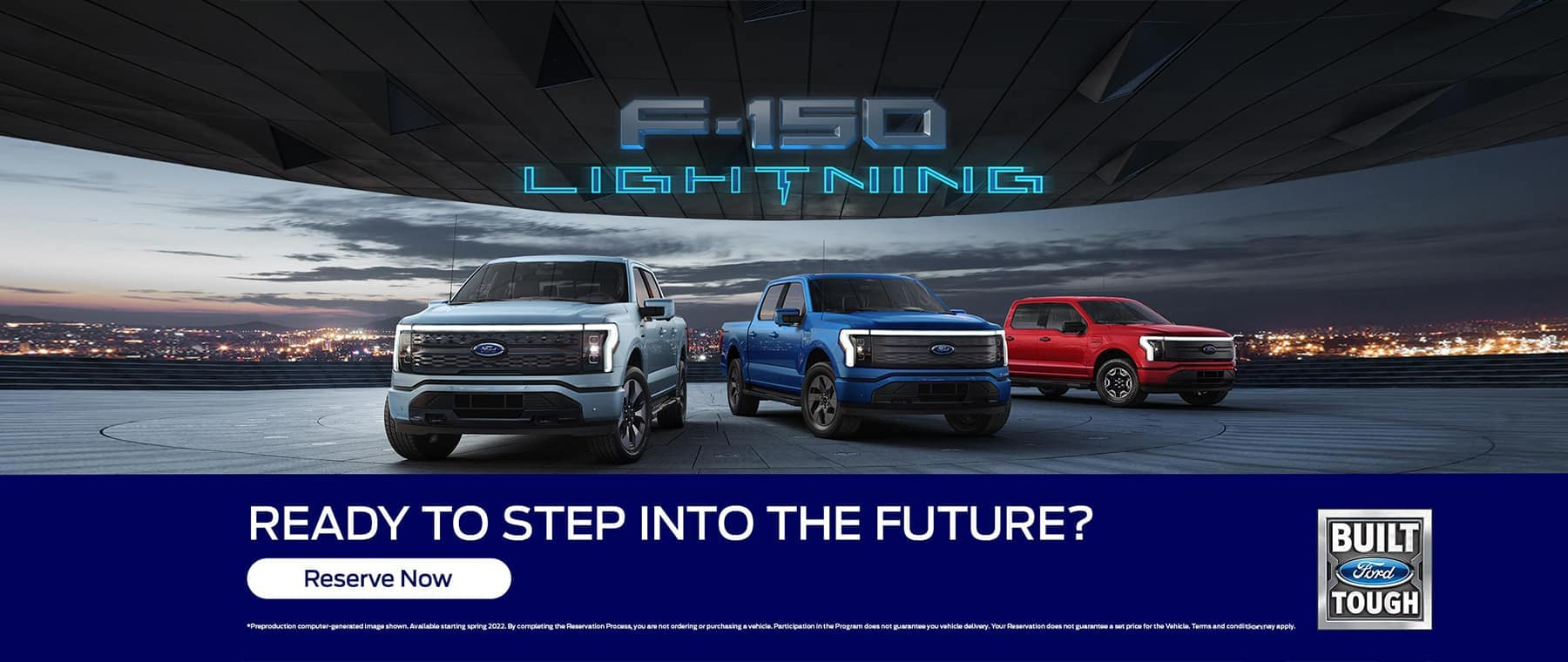 F150 Lighting Ready to step into the future