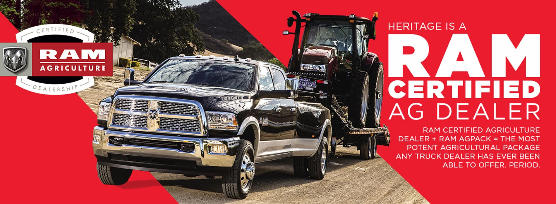 Ram Certified AG Dealer