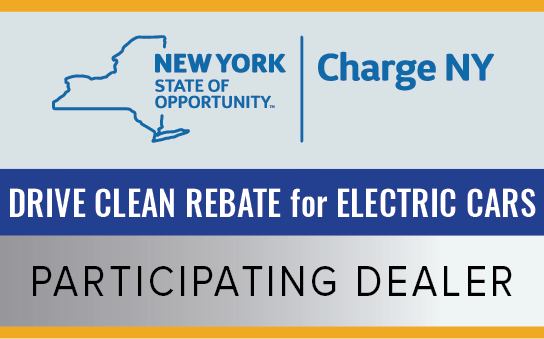 NY Drive Clean Rebate for Electric Cars
