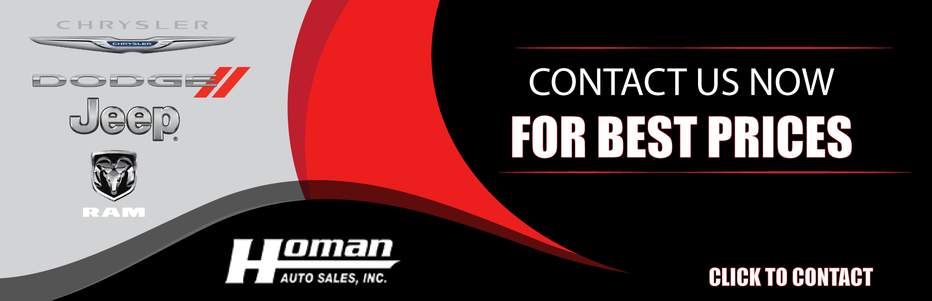 Homan Auto Sales Chrysler Dodge Jeep Ram Dealer In