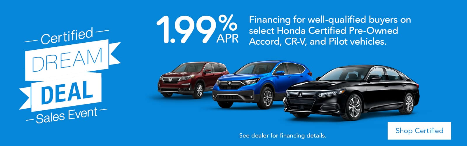 Honda Certified Offers at Brickell