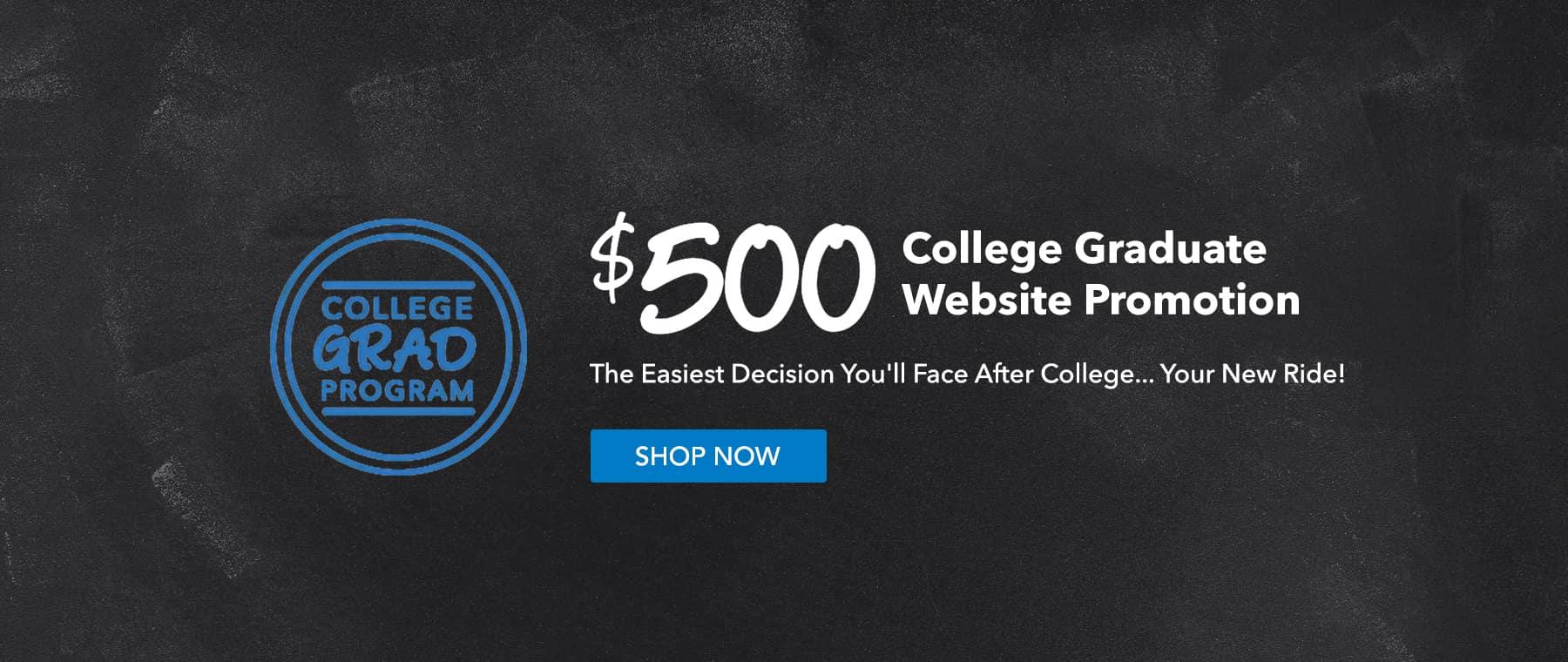 College Graduate Promo