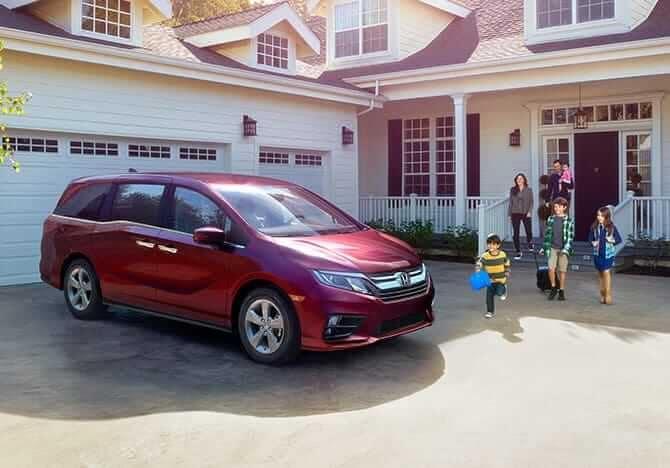 2019 Honda Odyssey Exterior 1