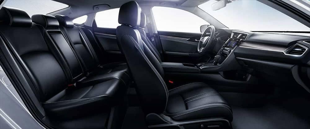 2019 Honda Civic Sedan leather seating