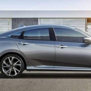 2019 Honda Civic Sedan side view