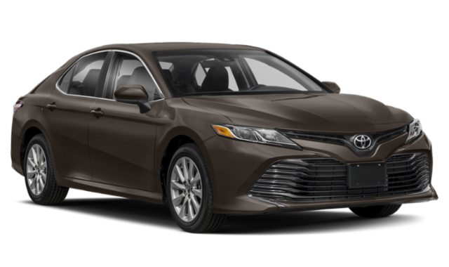 Brown Toyota Camry