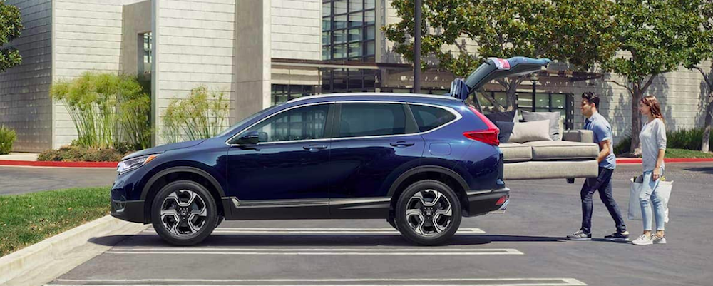 2019 honda cr-v blue
