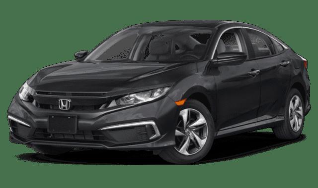Black 2019 Honda Civic