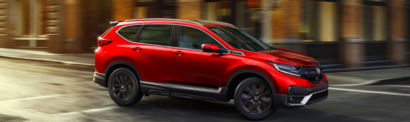 Red 2020 Honda CR-V