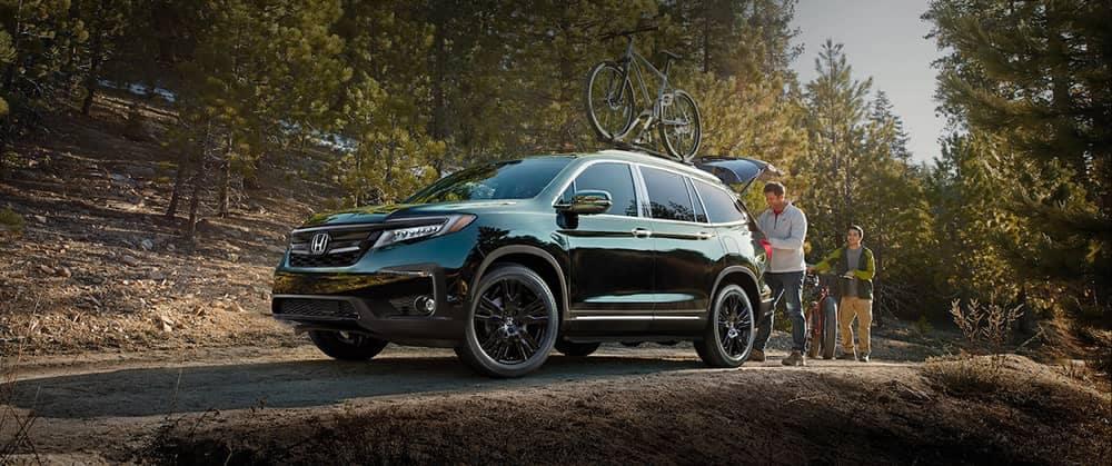 2020 Honda Pilot In The Woods