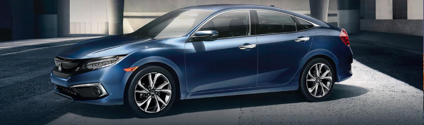 Metallic Blue Civic 2020