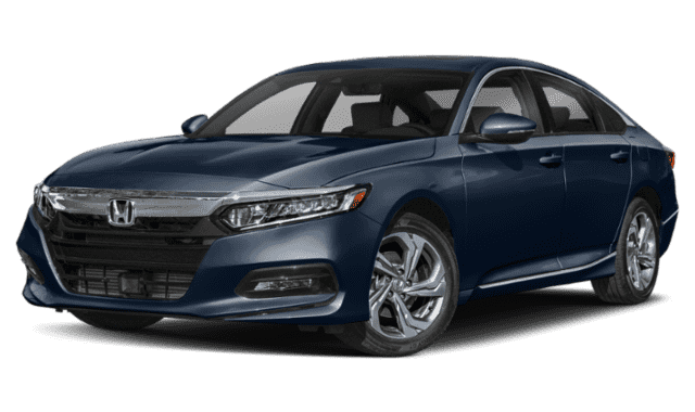 Blue 2019 Honda Accord EX
