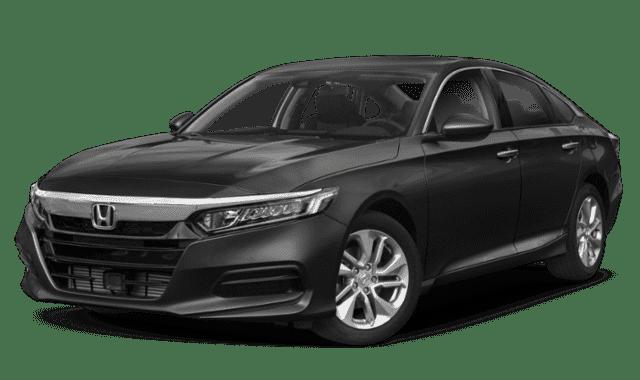 Black 2019 Honda Accord LX