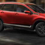 Red Honda CR-V