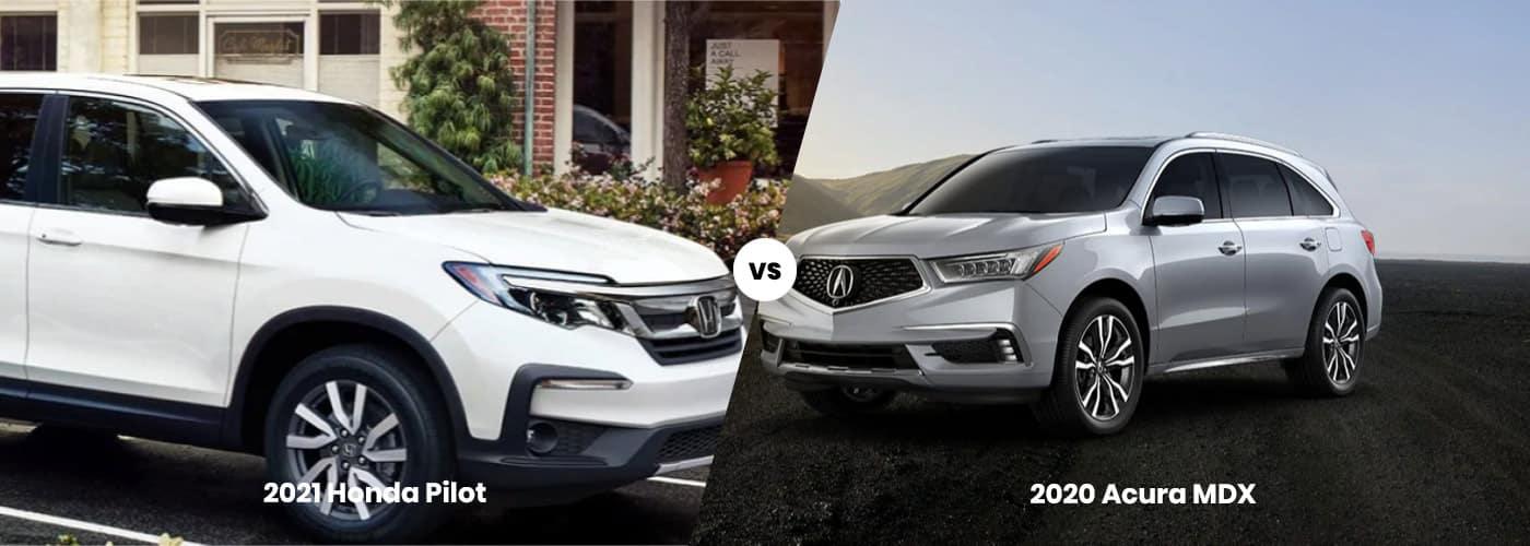 Honda Pilot vs Acura MDX
