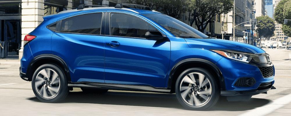 Blue Honda HR-V 2020